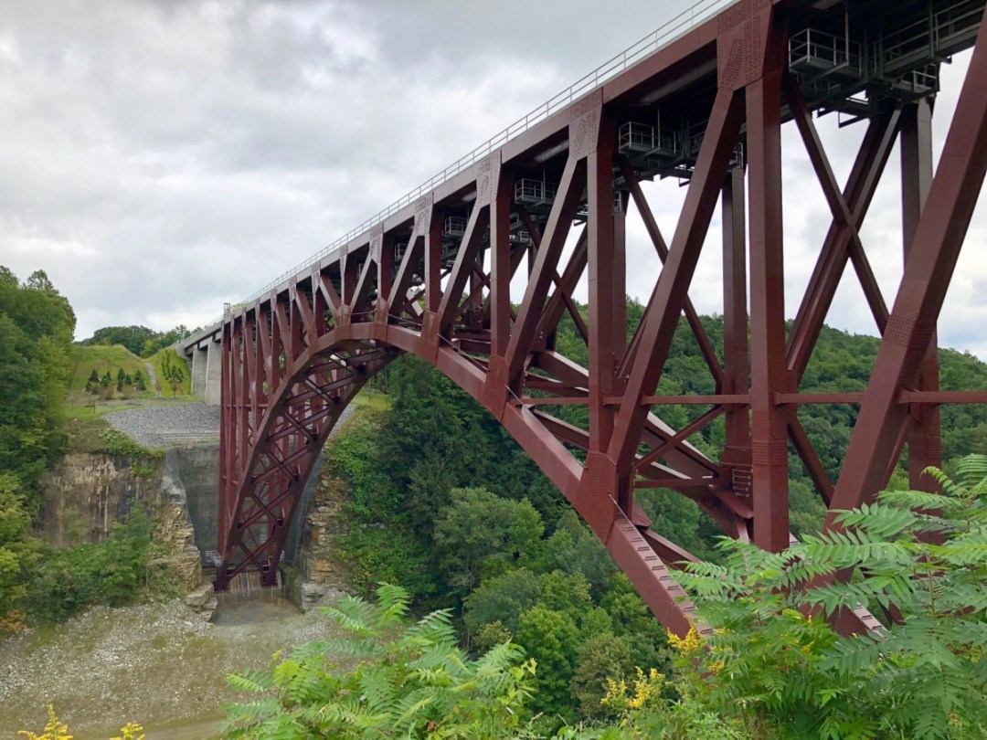 Genessee Arch Bridge - Things to Do in Letchworth State Park