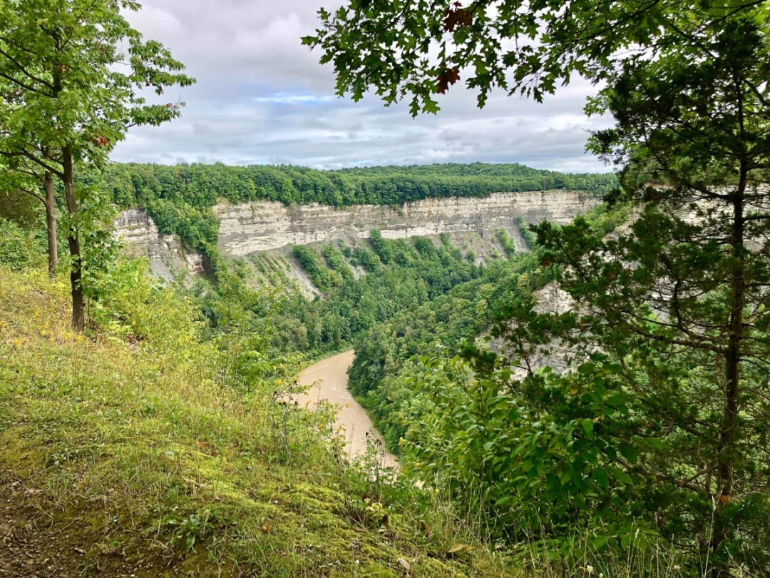 archery field overlook - Things to Do in Letchworth State Park