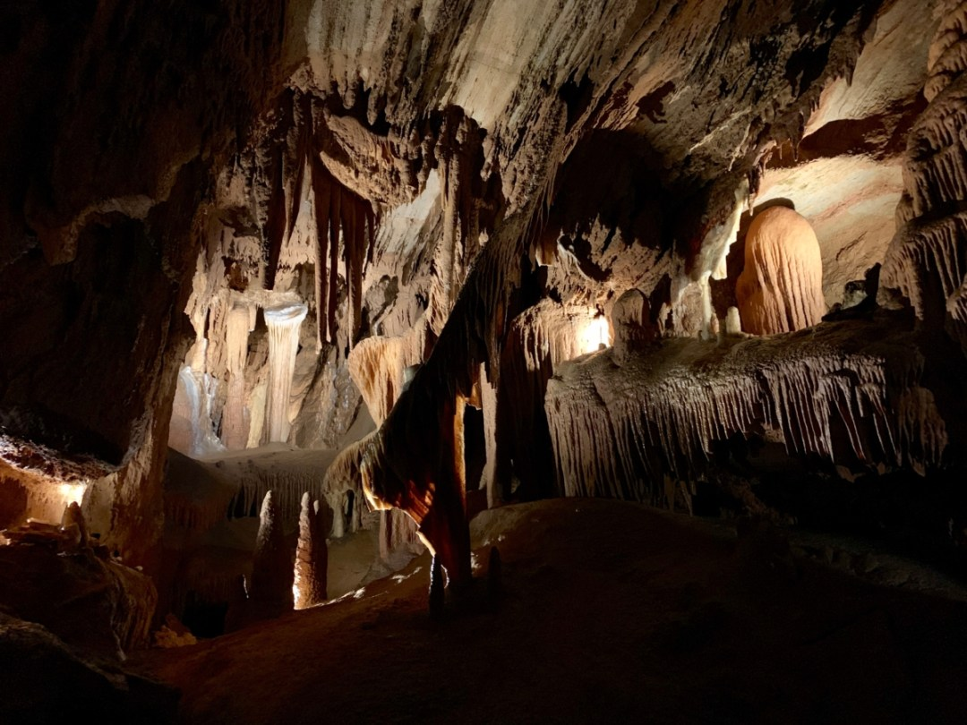 Grand Caverns Formations - Fun Things to Do in Staunton Virginia