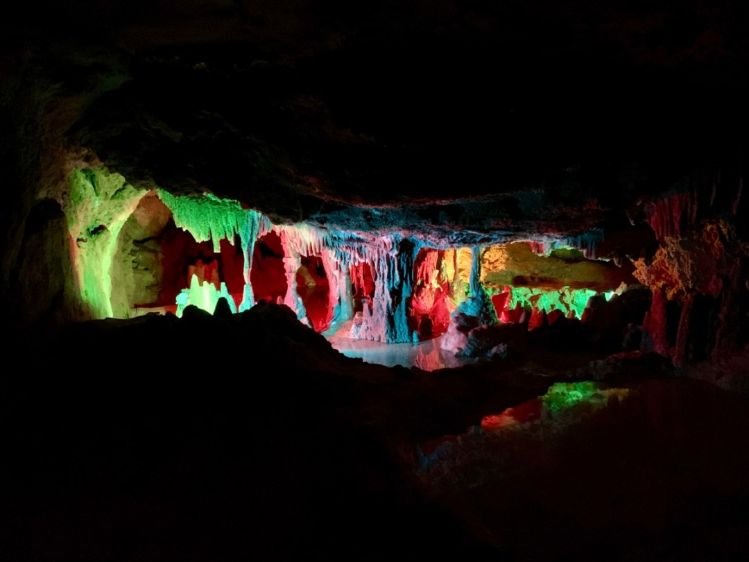 Grand Caverns Rainbow Room - Fun Things to Do in Staunton Virginia