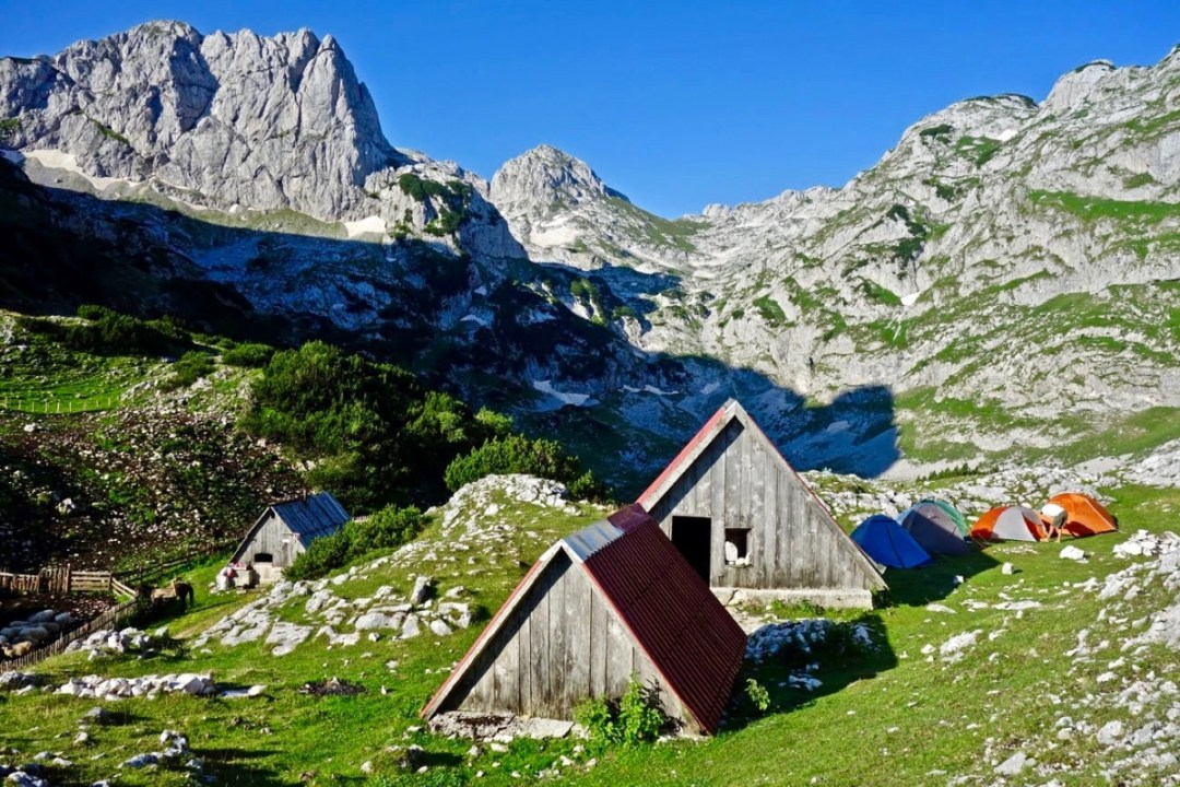 Mountain huts and tents - Roadtripping, Hiking & Camping Montenegro Best Places