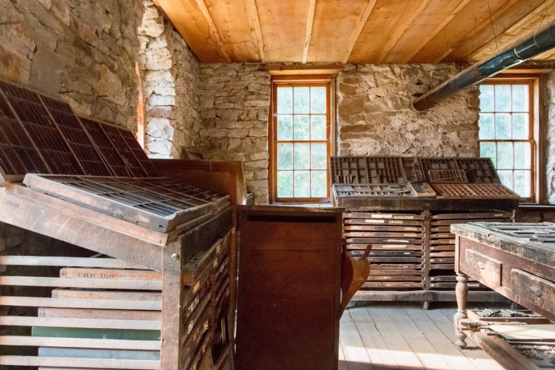 Virginia City Printshop 2 - Two Montana Ghost Towns Where the Old West Comes Alive