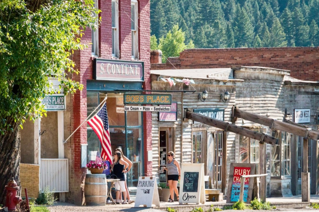 Virginia City Street - Two Montana Ghost Towns Where the Old West Comes Alive