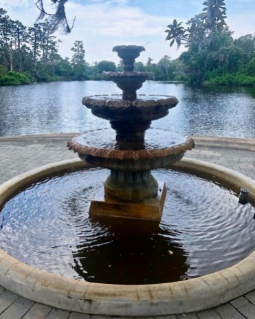 Airlie Gardens fountain