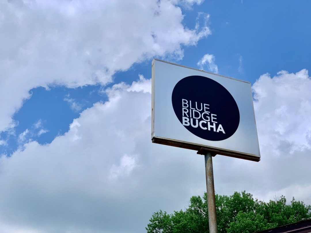 Blue Ridge Bucha sign - 10 Popular Craft Breweries & Restaurants in Waynesboro Virginia
