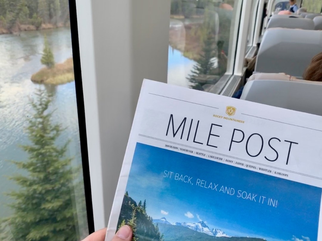 Rocky Mountaineer Mile Post Publication - All Aboard the Rocky Mountaineer! An Insider's Guide to Your Journey by Rail