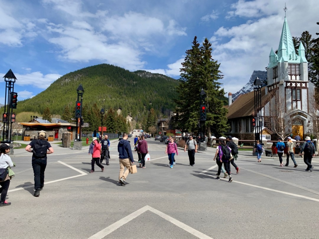 Banff Crosswalk - The Best Sites & Activities for a Town of Banff Adventure