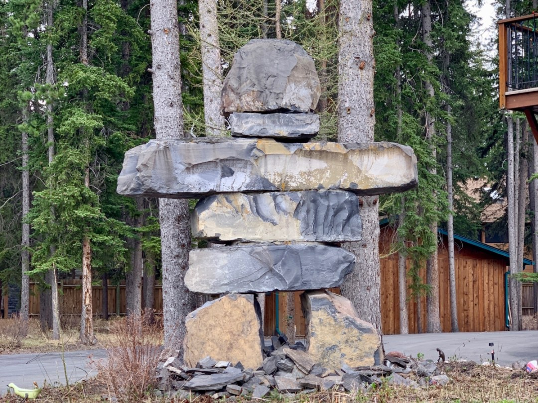 Banff Inuksuk Stone Sculptures - The Best Sites & Activities for a Town of Banff Adventure