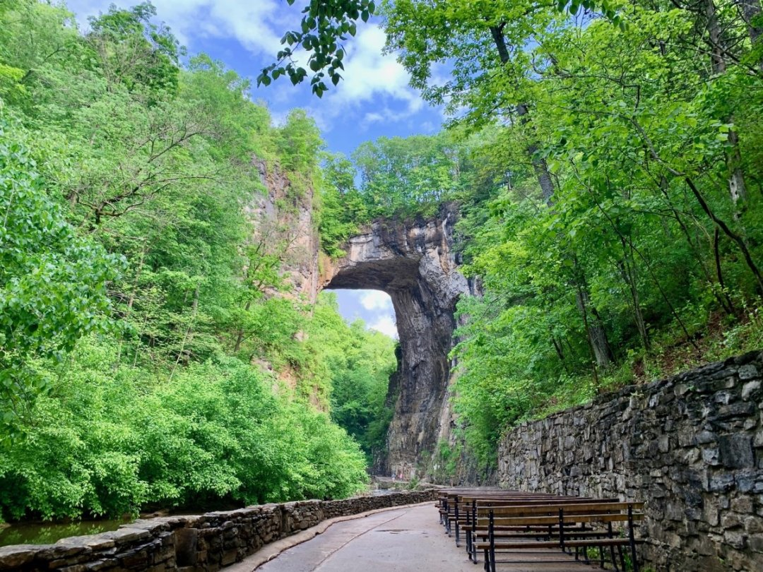 Natural Bridge Landscape - Scenic & Historic Things to Do in Lexington, Virginia