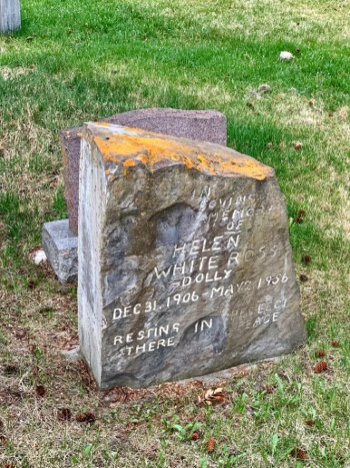 Old Banff Cemetery Headstone