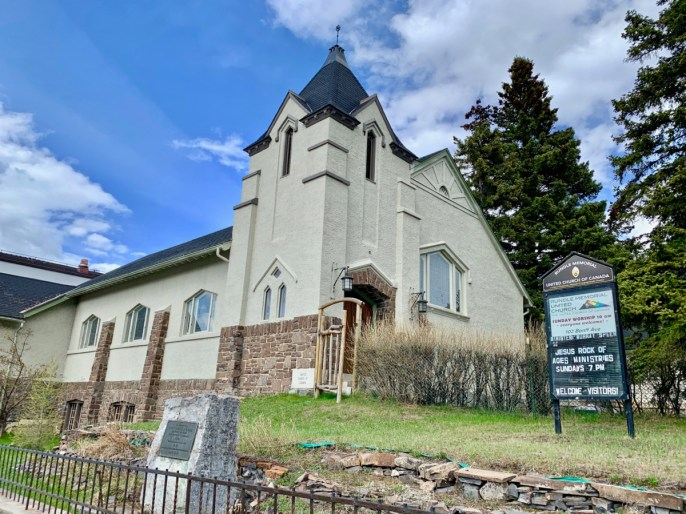 Rundle Memorial United Church Banff
