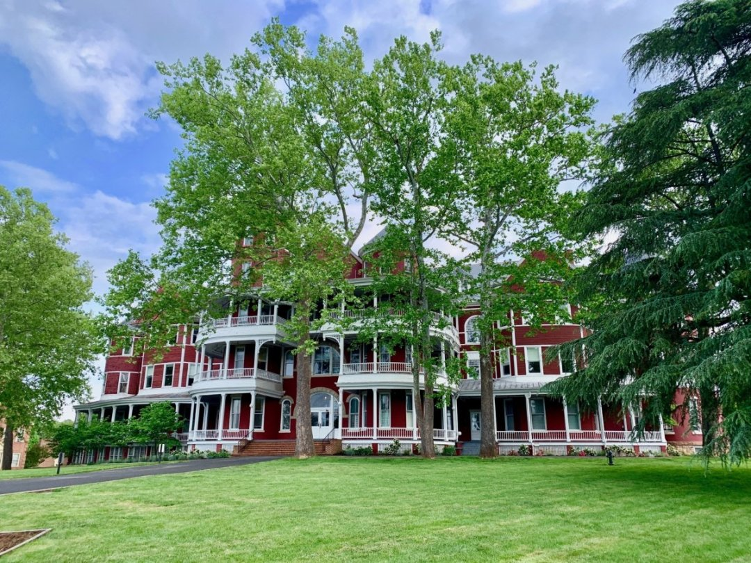 Southern Virginia University Main Hall - Scenic & Historic Things to Do in Lexington, Virginia