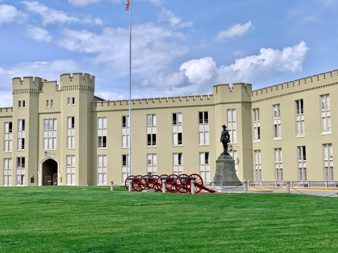 VMI Barracks Cannon Jackson Statue - Scenic & Historic Things to Do in Lexington, Virginia