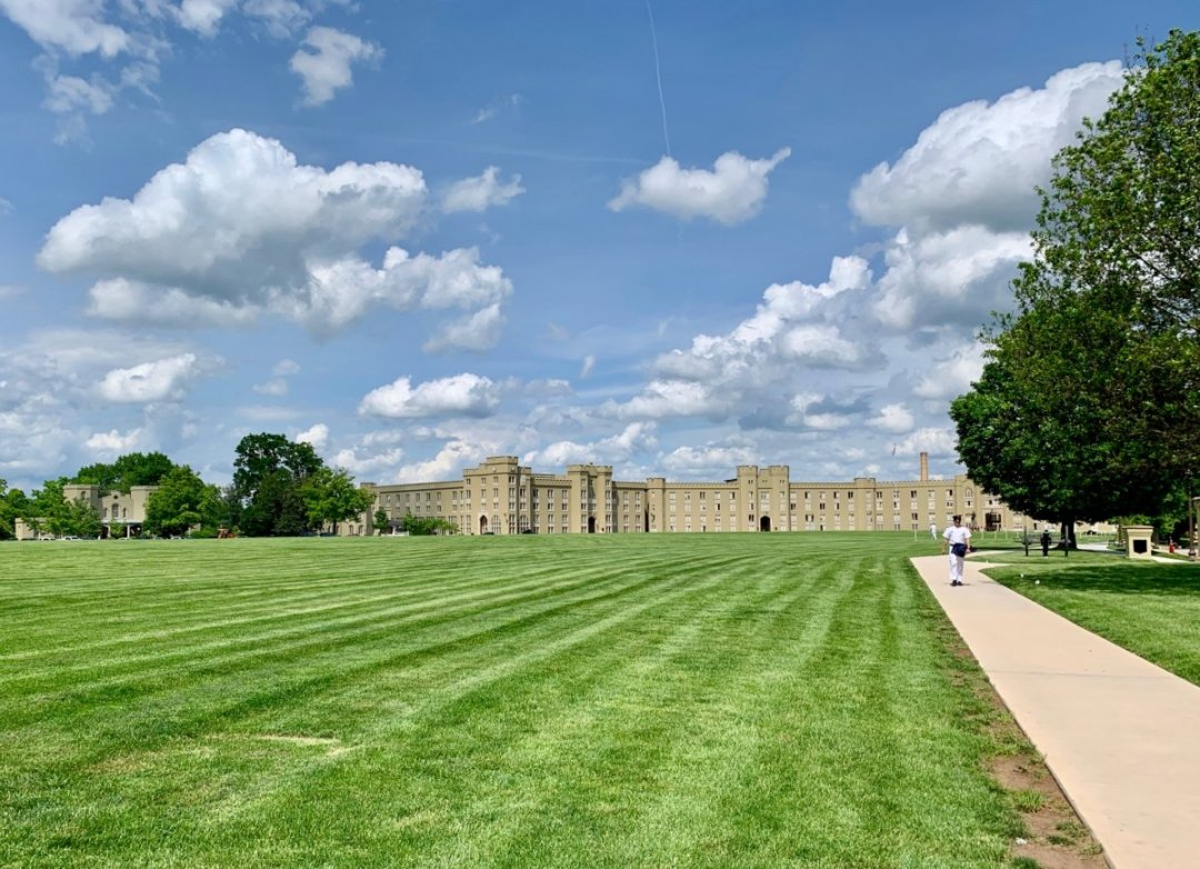 VMI Barracks and Parade Ground - Scenic & Historic Things to Do in Lexington, Virginia