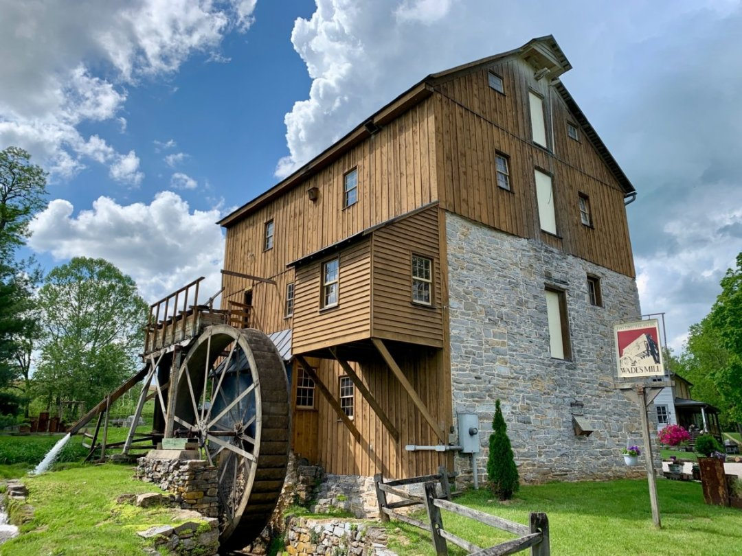 Wades Mill Waterwheel - Scenic & Historic Things to Do in Lexington, Virginia