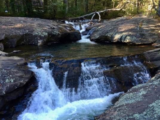 Cascades Above Dicks Creek Falls