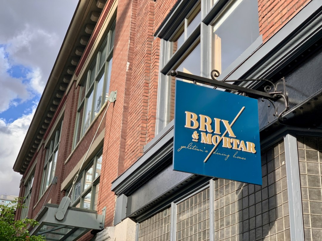 Brix Mortar Sign - Tour Capilano Suspension Bridge Park and See Vancouver in a Day