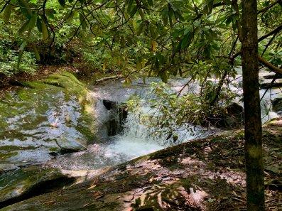 Moccasin Creek cascade