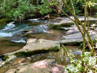 Pools on Moccasin Creek