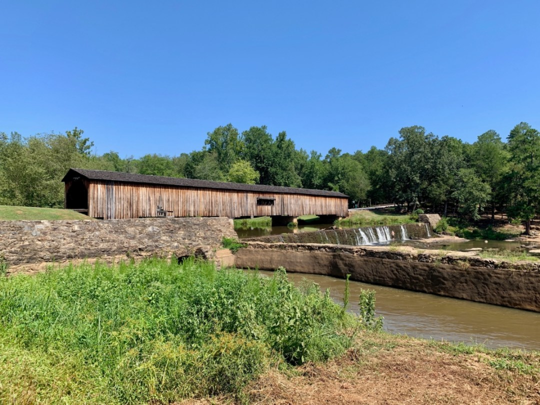 Watson Mill Covered Bridge - North Georgia Swimming Holes & Waterfalls You Can Swim In
