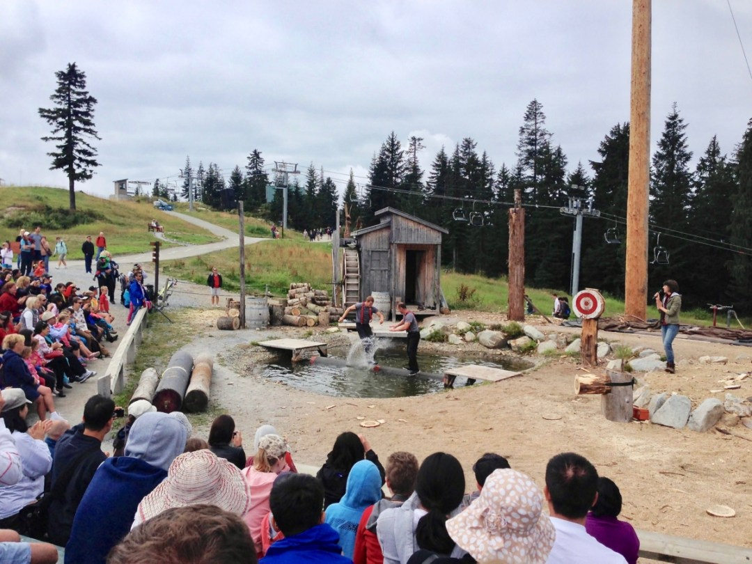 Grouse Mountain Lumberjacks - Tour Capilano Suspension Bridge Park and See Vancouver in a Day