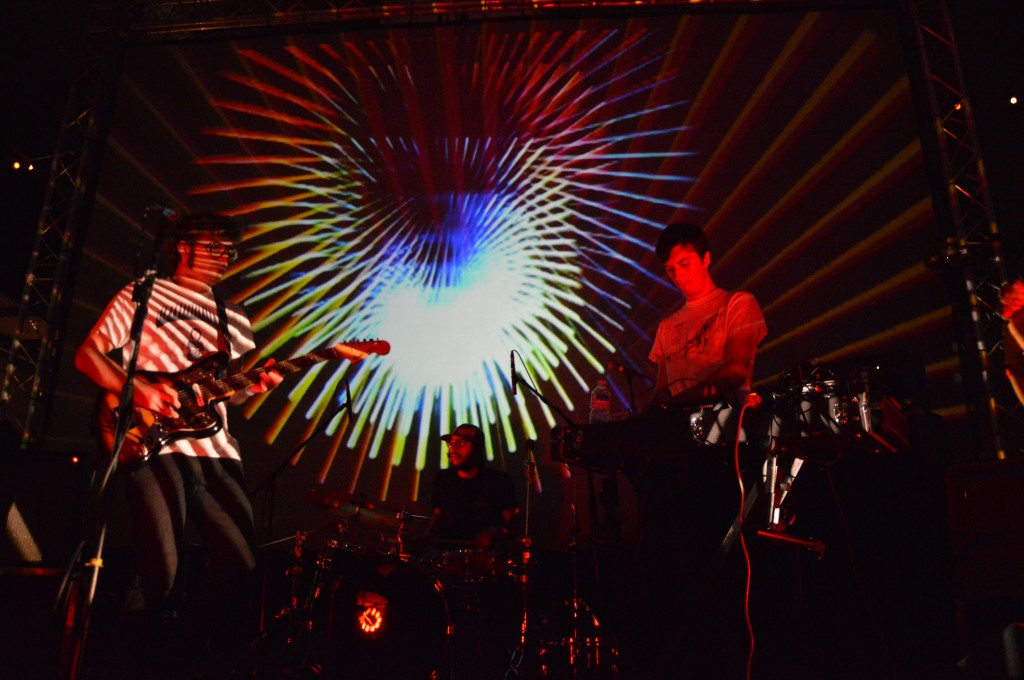 Lay Llamas at Liverpool PsychFest 2014. Photo by Simon Delic