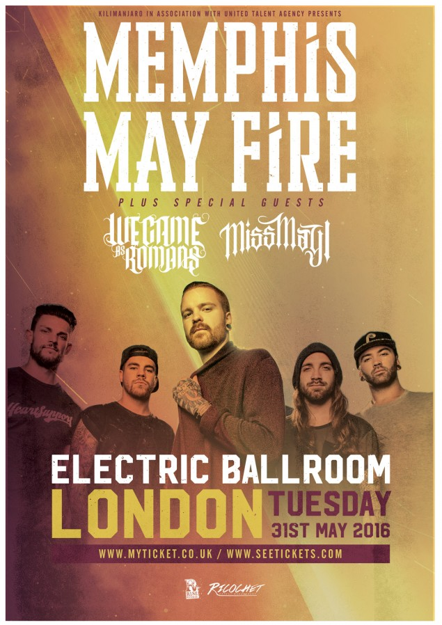 Slam_Dunk-Memphis_May_Fire-Electric_Ballroom-2016-poster