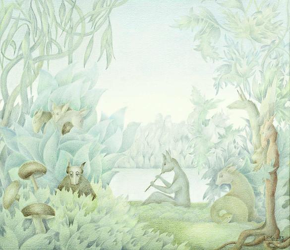 Drawing by ValentinaKropivnitskaya, courtesy of the filmmakers