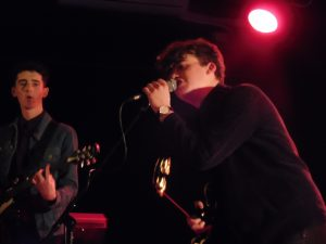 The Wired's Caleb Smelt and Jacob Beaumont at the Leadmill