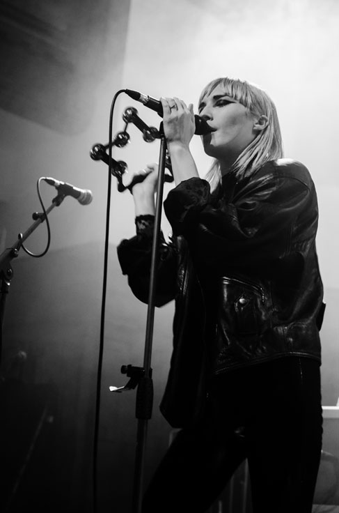 PINS on stage at Saint Lukes Glasgow December 2016