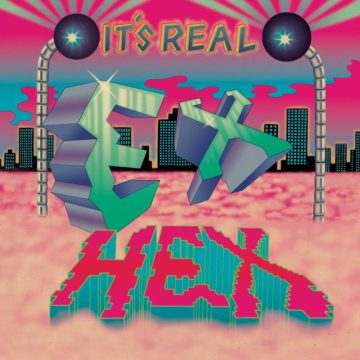 It's Real by Ex Hex album artwork