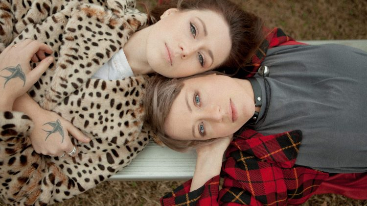 Promo image of Larkin Poe, photographed by Bree Marie Fish