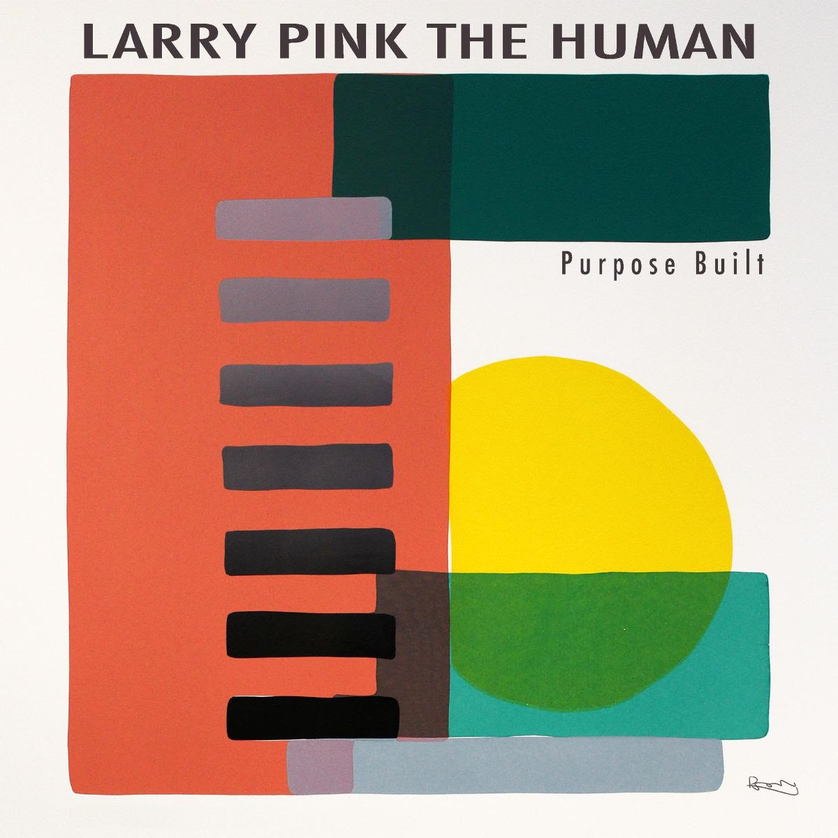 SEE: LARRY PINK THE HUMAN debut new single, 'Purpose Built'