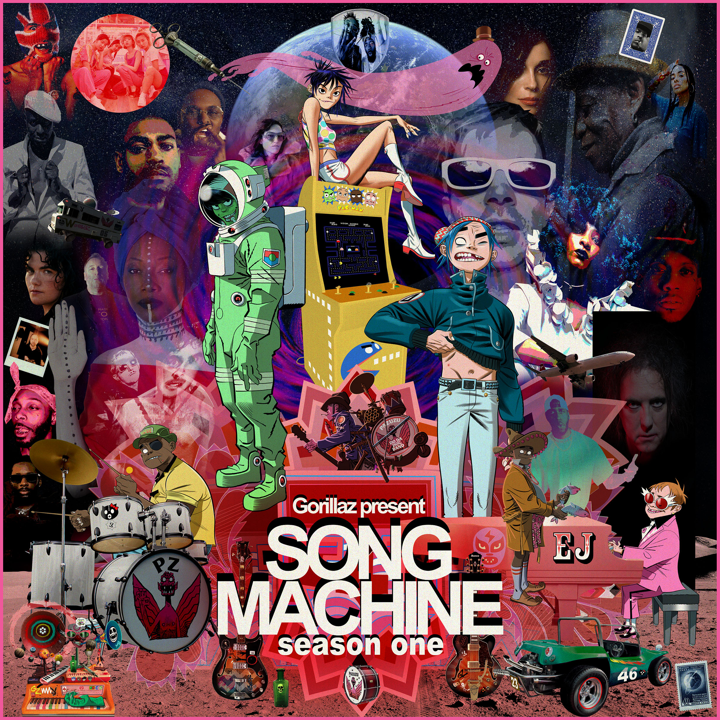 NEWS: Gorillaz announce 'SONG MACHINE: Season One – Strange Timez' – watch  the new Robert Smith collab | Backseat Mafia