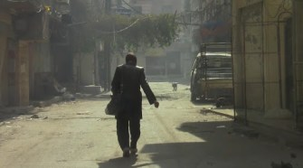A resident of Yarmouk