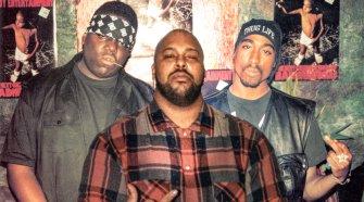 Biggie, Suge Knight and 2Pac