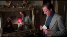 Francesco and Virginia, reflected in a mirror
