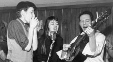 Karen Dalton with Bob Dylan and Fred Neil performing at Café Wah?
