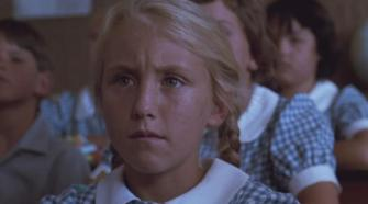 Celia in class