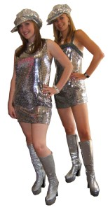 C 2 Silver Dresses