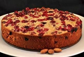 Κέικ με cranberries