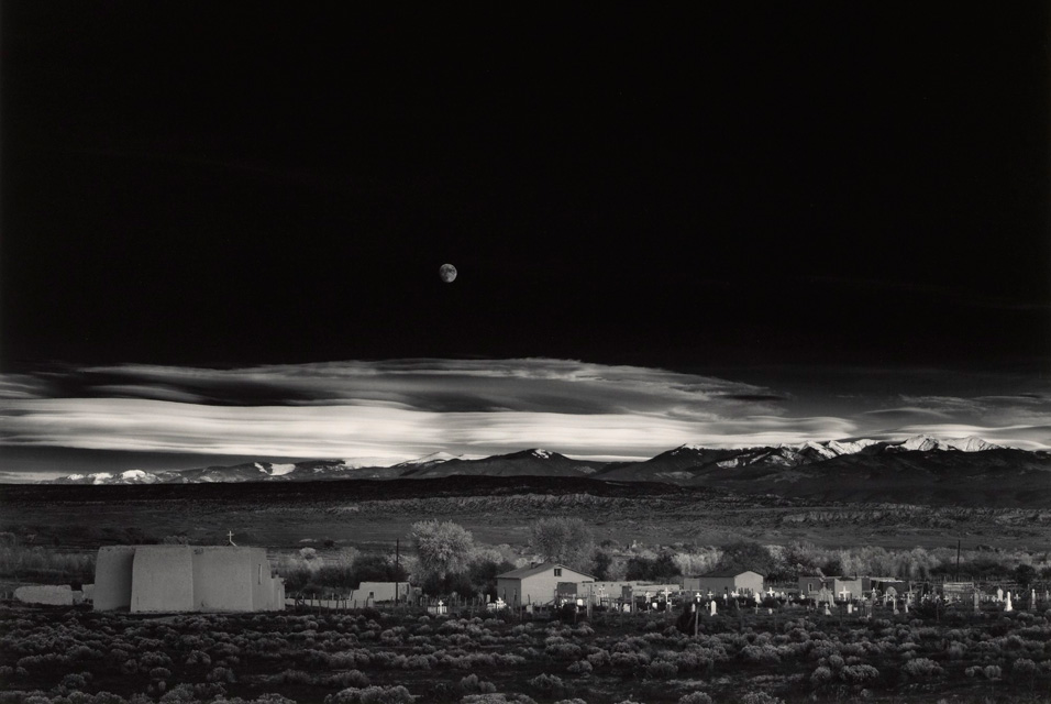 Ansel Adams_Moonrise over Hernandez