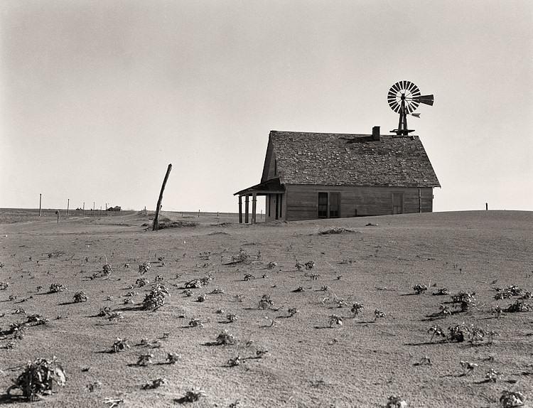 Dorothea Lang_Dustbowl Farm