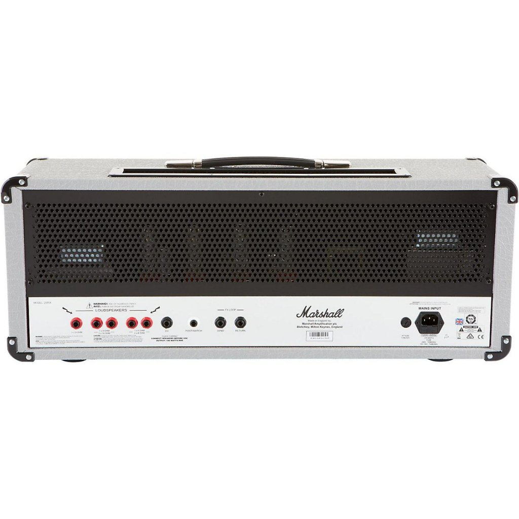Marshall 2555X Silver Jubilee 100 W Tube Guitar Head back