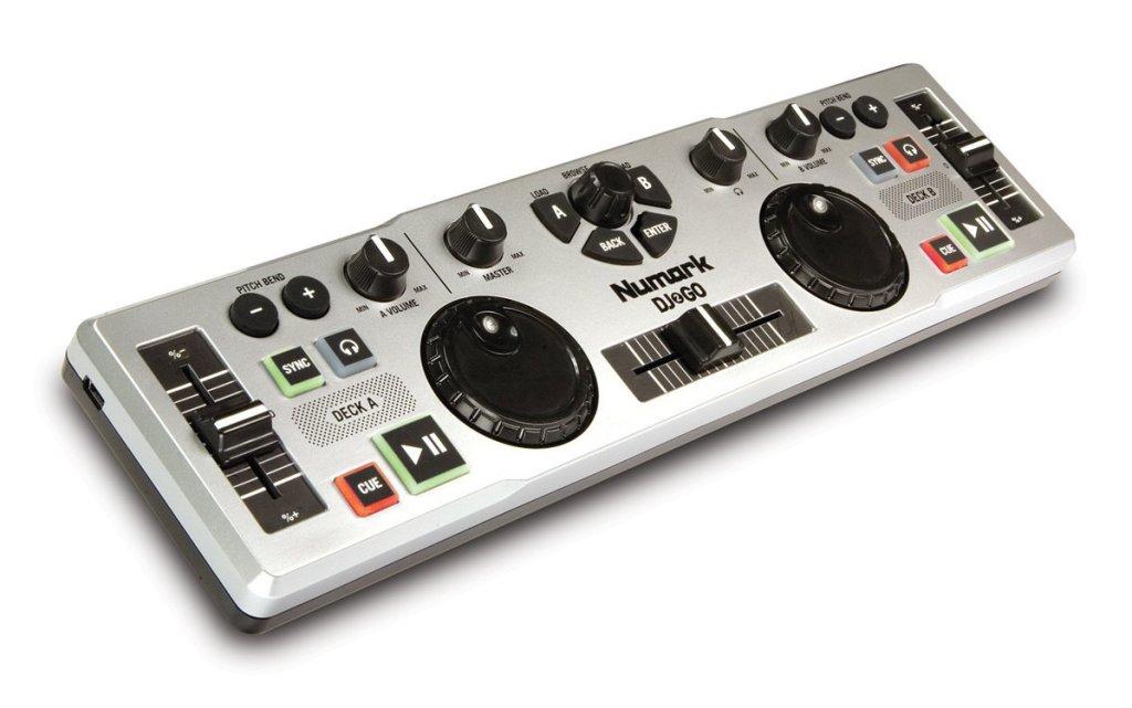 Numark DJ 2 Go Ultra-Portable USB DJ Controller