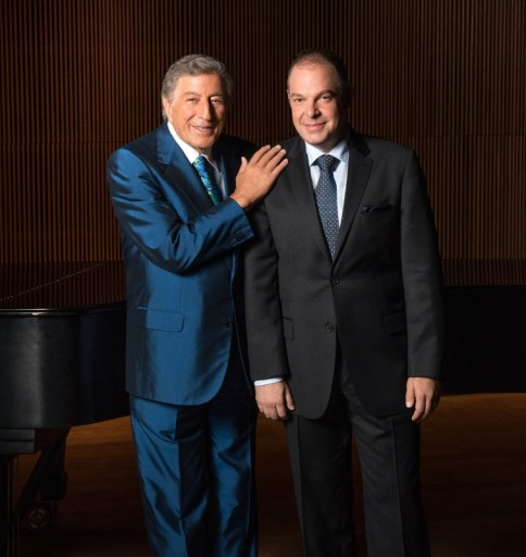 Photo Credit: Kelsey BennettMusic Legend Tony Bennett and Jazz Pianist Bill Charlap Record The Silver Lining: The Songs of Jerome Kern (PRNewsFoto/RPM/Columbia Records)