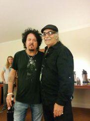 Steve Lukather with RocmanRocks