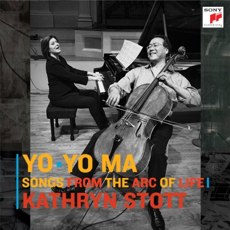 Yo-Yo Ma & Kathryn Stott - New Album: Songs From The Arc Of Life - Available September 18, 2015 (PRNewsFoto/Sony Classical)