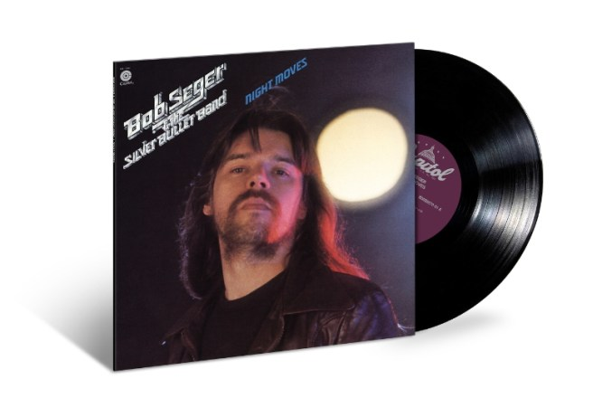 Capitol Records recording artist Bob Seger's classic album, Night Moves, makes its debut on 180-gram vinyl on June 16, 2015. (PRNewsFoto/Universal Music Enterprises)