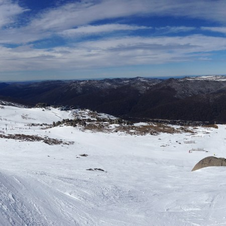Australian Snowy Mountains Thredbo